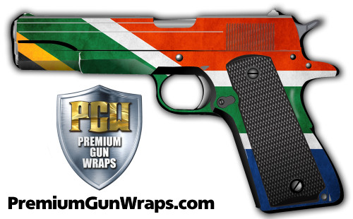 Buy Gun Wrap Flag Africa