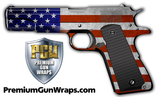 Buy Gun Wrap Flag American Grunge2