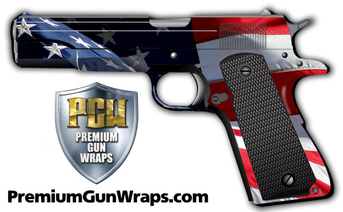 Buy Gun Wrap Flag American Pride