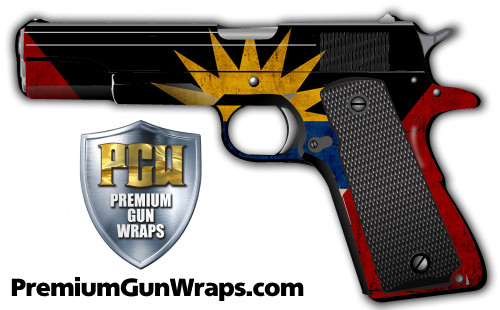 Buy Gun Wrap Flag Antigua
