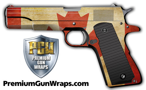 Buy Gun Wrap Flag Canada