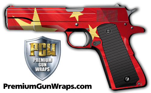 Buy Gun Wrap Flag China