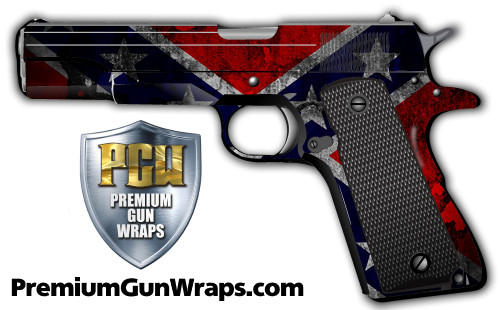 Buy Gun Wrap Flag Confederate Grunge