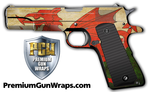 Buy Gun Wrap Flag Dragon