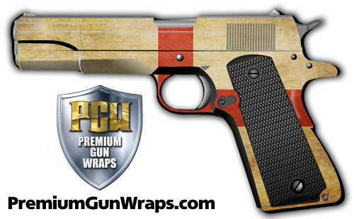 Buy Gun Wrap Flag England