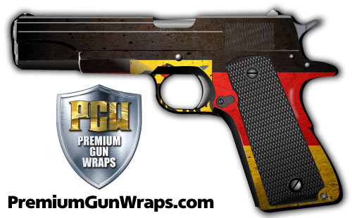 Buy Gun Wrap Flag Germany Grunge