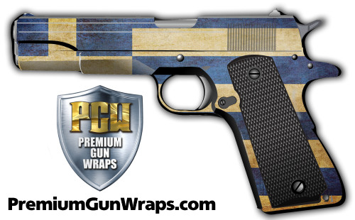 Buy Gun Wrap Flag Greece