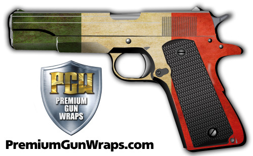 Buy Gun Wrap Flag Italy