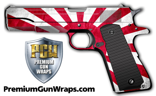 Buy Gun Wrap Flag Japanese Grunge
