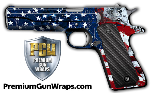 Buy Gun Wrap Flag Paint