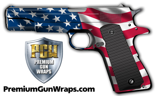 Buy Gun Wrap Flag Ripple