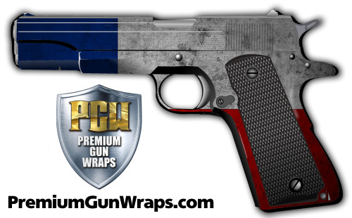 Buy Gun Wrap Flag Texas