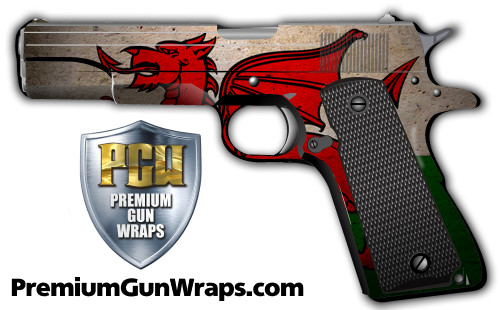 Buy Gun Wrap Flag Wales