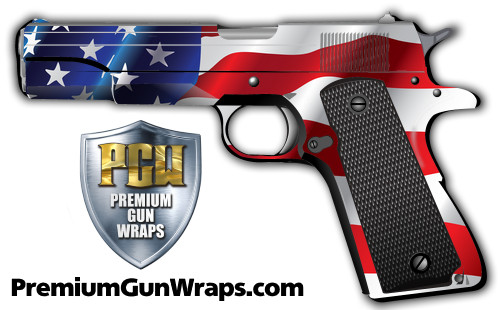 Buy Gun Wrap Flag Wave