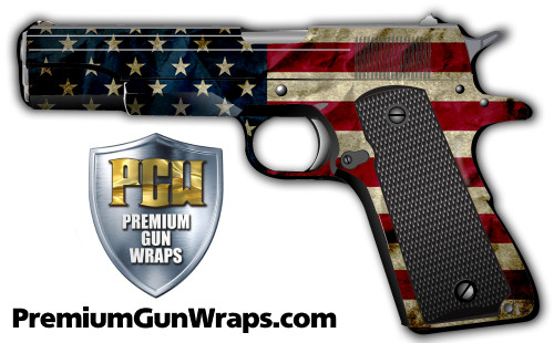 Buy Gun Wrap Flag Wrinkle
