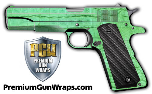 Buy Gun Wrap Alligator Green