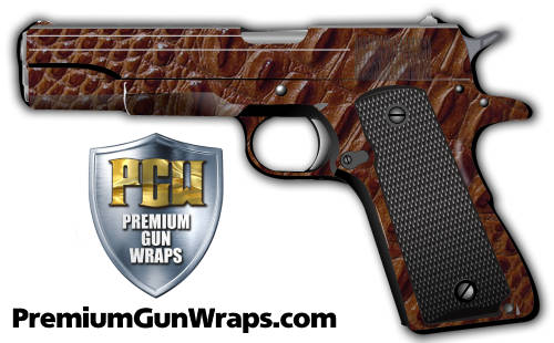 Buy Gun Wrap Alligator Orange