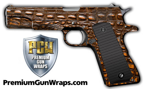 Buy Gun Wrap Alligator Printed