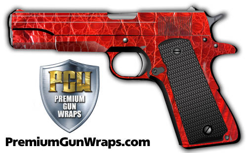 Buy Gun Wrap Alligator Red