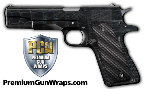 Buy Gun Wrap Skin Black