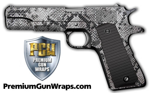 Buy Gun Wrap Skin Grey