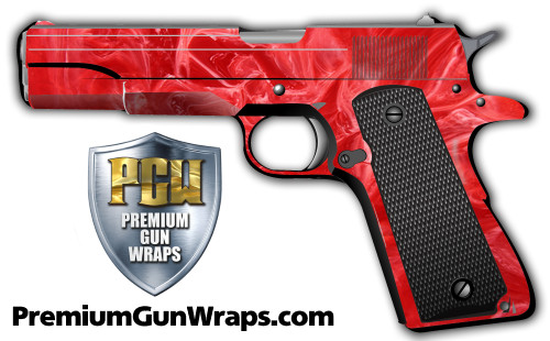 Buy Gun Wrap Texture Red Marble