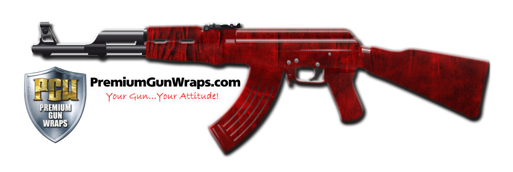 Buy Gun Wrap Grunge Blood Gun Wrap
