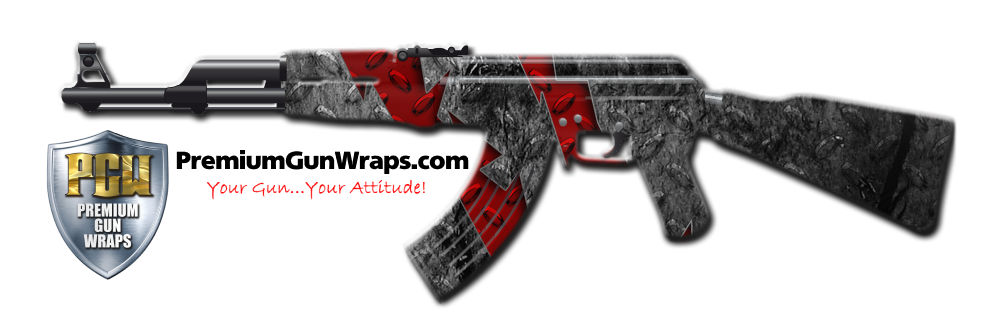 Buy Gun Wrap Grunge Slash Gun Wrap